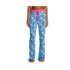Nite Nite Munki Munki Female Sleep Pants Nite Nite Munki  Perblu ($17) ❤ liked on Polyvore featuring periwinkle blue