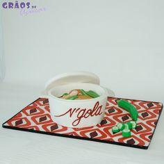 Muamba - Grãos de Açúcar - Bolos decorados - Cake Design