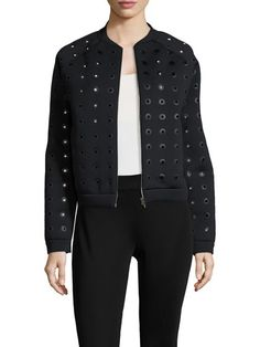 Eyelet Raglan Jacket by Balenciaga at Gilt