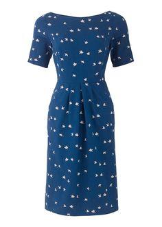 People Tree | Blue Eva Dove Dress