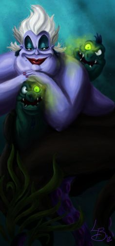 Ursula is the main antagonist of Disney's The Little Mermaid.