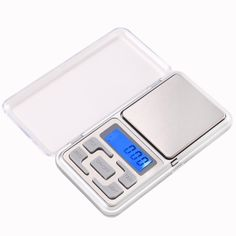 WFGOGO Mini Electronic Portable Jewelry Scale Pocket Scales Digital Scale Display Of Jewelry With Retail Box Digital Pocket Scale, Digital Scale, Jewelry Scale, Electronic Scale, Weighing Scale, Retail Box, Screen Size, Gold Coins