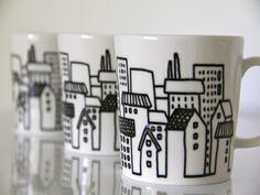 talot-muki Mugs, Tableware, Kitchen, Dinnerware, Cooking, Tumblers, Tablewares, Kitchens, Mug