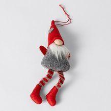 Heritage Nordic Santa Christmas Ornament