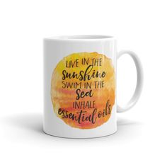 This coffee mug will inspire you to chase your dreams and promote your passion for essential oils every day.