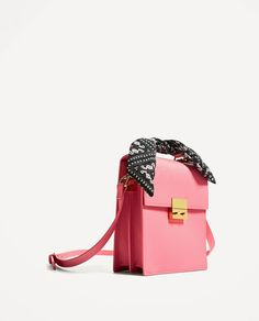 ZARA - WOMAN - CITY BAG WITH SCARF