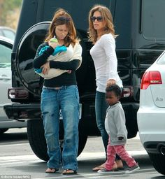 Cute lesbian couple with a mixed race family? Melts my out-of-shape heart.