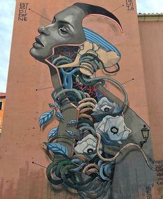 Street-wall graphic art - L'arte grafica sui muri. Street art come forma d'arte…