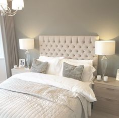 best ideas white and grey bedroom furniture texture Grey Bedroom Decor, Grey Bedroom Furniture, Room Ideas Bedroom, Trendy Bedroom, Bedroom Colors, Home Bedroom, Master Bedroom, Furniture Sets, Furniture Design