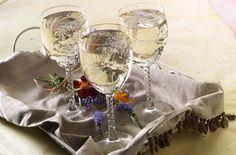 White Cranberry Wine Spritzer:  4 ounces Ocean Spray® White Cranberry Juice Drink3 ounces white wineLemon-lime soda