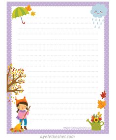 Free Printable Stationery, Printable Letters, Printable Paper, Free Printables, Free Digital Scrapbooking, Digital Scrapbook Paper, Boarder Designs, Writing Paper, Letter Writing