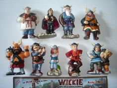 VICKY-THE-VIKINGS-MOVIE-2009-KINDER-SURPRISE-FIGURES-SET-COLLECTIBLES