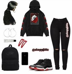 ✔ Fashion Teenage Girls Style - - ✔ Fashion Teenage Girls Style Source by Baddie Outfits Casual, Cute Swag Outfits, Cute Comfy Outfits, Cute Outfits For School, Grunge Outfits, Trendy Outfits, Summer Swag Outfits, Fall Outfits, Boujee Outfits