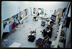 David Hockney studio