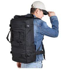 Tactical Military Trekking Camping Hiking Rucksack Backpack Bag 60L