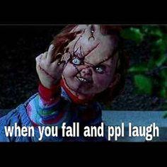 Chucky falls