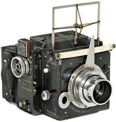 Vintage Press Camera - Lucien Beaugers - Old film photo camera