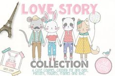 Love Story Collection by Julia Dreams on @creativemarket