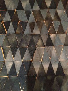 Love this simple tile #pattern. So modern and yet so #tribal.