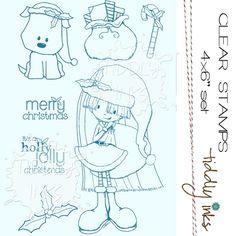 www.simonsaysstamp.com  TIDDLY INKS - HOLLY JOLLY CHRISTMAS - TI059 /1.2