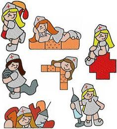 imagenes de dibujos de enfermeras