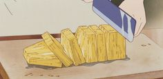 GIF food anime Relaxed laid back cure Mind-blowing over-fancy aroma Seductive appetite dessert Anime Gifs, Anime Art, Anime Bento, Japanese Animated Movies, Aesthetic Gif, Aesthetic Japan, Old Anime, Animation, Food Drawing