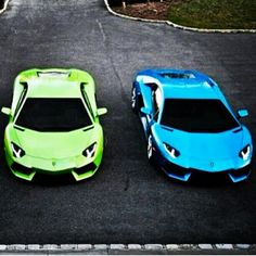 which would you choose if you had to? i'd go for the blue lambo,do you agree?