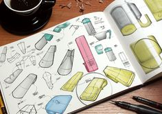 Quirky Plate Pals Ideation #Sketch #IDSketching #IndustrialDesign #Photoshop #Rendering #Concept #Camera #ProductDesign