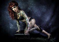 Tattoo Lady, beauty and grace with a twist of excitement Vintage Inspired, Portraits, Wonder Woman, Glamour, Fine Art, Superhero, Lady, Photography, Inspiration