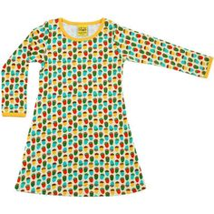 Acorn Dress - ittikid Scandinavian Children's Clothes - Scandinavian Baby and Kids Clothes Scandinavian Baby, Baby Outfits Newborn, Baby Girl Fashion, Organic Baby, Kids Outfits, Acorn, Sweden, How To Wear, Eco Friendly