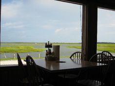 Nance's - Murrells Inlet, SC a restaurant on the marsh