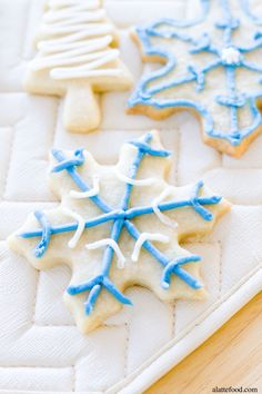 Soft-Baked Cutout Sugar Cookies: These soft rollout sugar cookies have Christmas and New Years written all over them! It's the perfect cookie. Merry almost Christmas Eve! Can you believe we are almost to the end of 2014? Where has the time...
