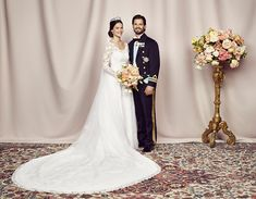 Prince Carl Philip and Princess Sofia of Sweden's official wedding photos released - Photo 1 | Celebrity news in hellomagazine.com