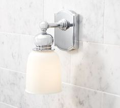 TWIN BATHS/Covington Hotel Single Sconce | Pottery Barn.  $129.00