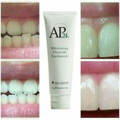 ap 24 Ap 24 Whitening Toothpaste, Nu Skin, Shampoo, Hair Beauty, Bottle, Instagram, Products, Flask