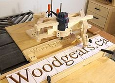 3D Router Pantograph - Homemade, 3D router pantograph capable of controlling the depth of cut.