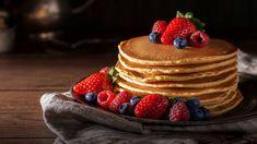 Experience the Joy of Making Pancakes Without Baking Powder - Tastessence Healthy Cheesecake, Lime Cheesecake, Low Carb Pancakes, Buttermilk Pancakes, Breakfast Items, Breakfast Bake, Poffertjes Recipe, Low Carb Flammkuchen, Pancake Healthy