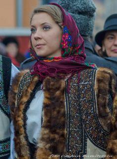Romanian people National folk clothing (part Romanian People, Romanian Girls, Romanian Flag, History Of Romania, Ukraine, Folk Costume, Costumes, Folk Clothing, Eastern Europe