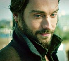Tom Mison as Ichabod Crane from Sleepy Hollow- I'm absolutely not a fan of men with long hair, but Tom is an amazingly beautiful male specimen <3