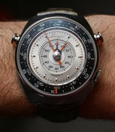Singer Track 1 Is A $40,000 Watch From The Porsche Car Modifier | aBlogtoWatch