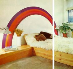 1977 DIY bedroom design from Better Homes and Gardens, 1977.