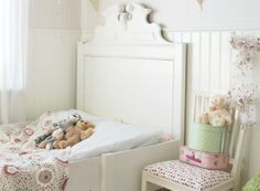 just for girls.. love the headboard