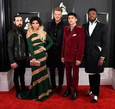 Pentatonix @ the Grammys!! They look so beautiful!!
