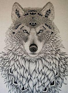 lobo desenho - Pesquisa Google