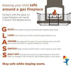 If you plan on snuggling up around a gas fireplace, here's what parents need to know.