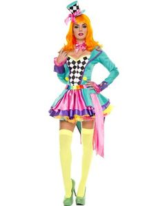 Hatter Hottie Adult Womens Costume