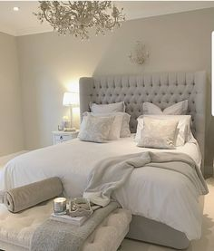 47 Stylish Master Bedroom Design Ideas Budget is part of Serene bedroom - There are many different master bedroom designs and styles As with any room, think of the ways you envision using […] Serene Bedroom, Master Bedroom Design, Beautiful Bedrooms, Dream Bedroom, Home Decor Bedroom, Bedroom Designs, Bedroom Layouts, Budget Bedroom, Mirror Bedroom