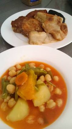 Spanish Food, Grubs, Mashed Potatoes, Pork, Chicken, Ethnic Recipes, Foods, Instant Pot, Cooking
