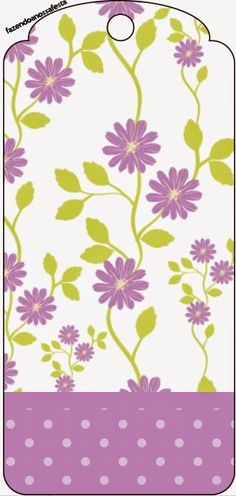 Flores Moradas: Imprimibles Gratis para Fiestas. Printable Tags, Printable Stickers, Potion Labels, Diy And Crafts, Paper Crafts, My Bookmarks, Floral Printables, Borders For Paper, Pony Party