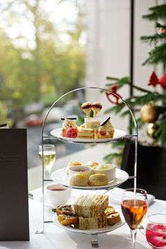 Afternoon Tea at the Lancaster Hotel in London